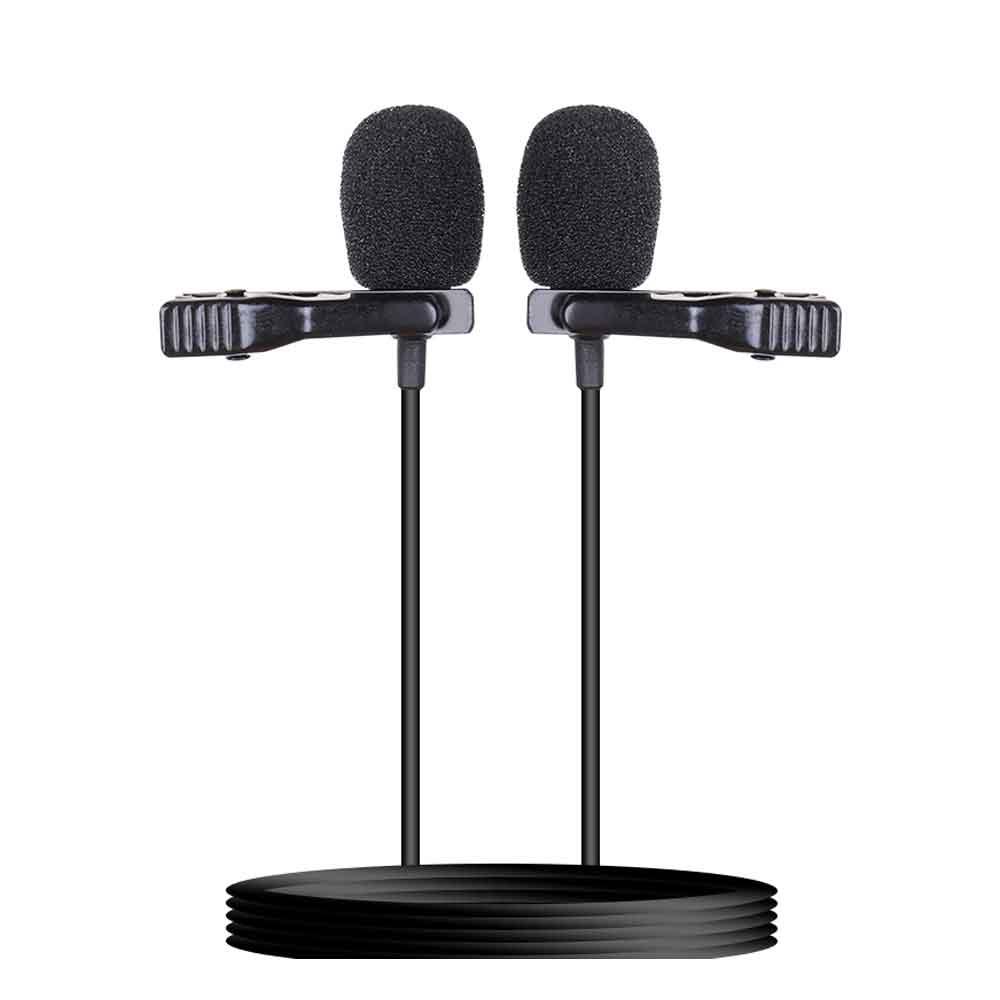 میکروفون یقه ای دوقلو F001