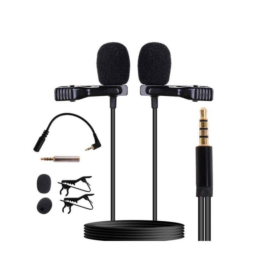 میکروفون یقه ای دوقلو مدل F001
