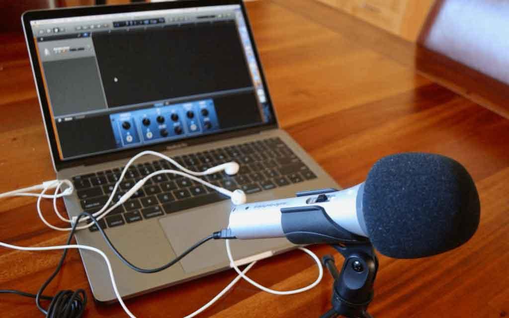 چگونگی کار با میکروفون