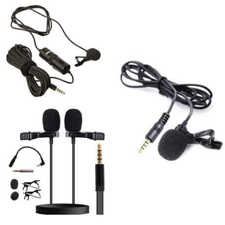 collar microphone (میکروفن یقه ای )