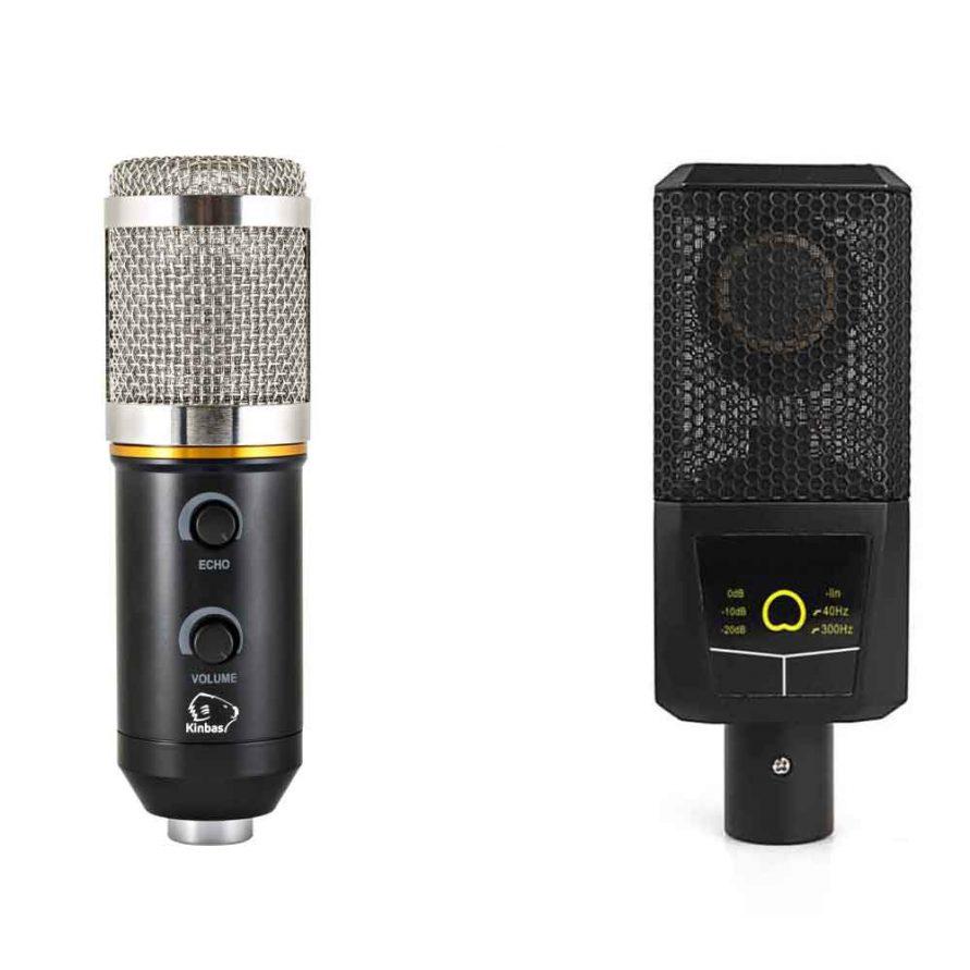 میکروفون های کاندنسر یا خازنی