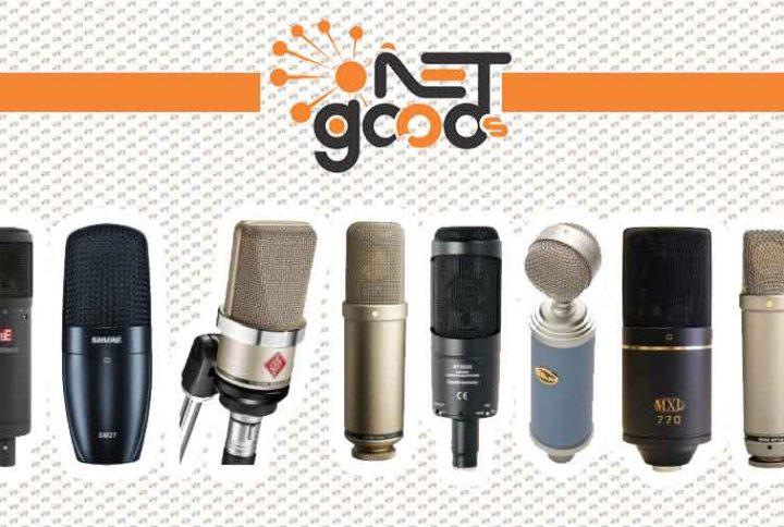 میکروفون و انواع آن