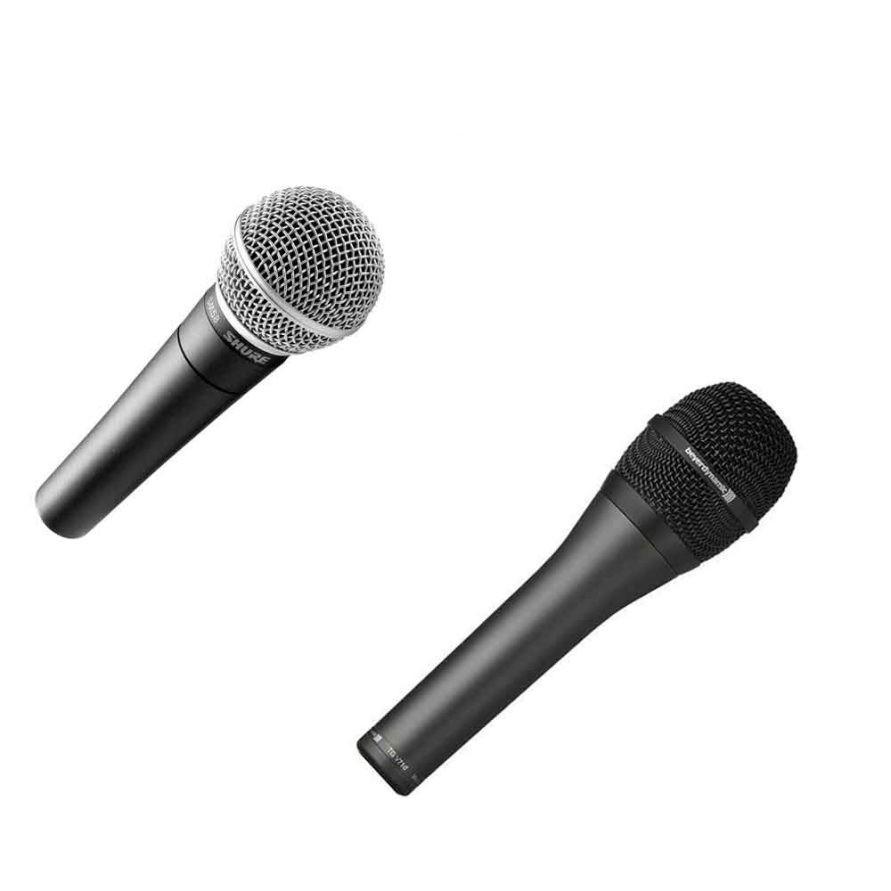 نمونه هایی از میکروفون های داینامیک