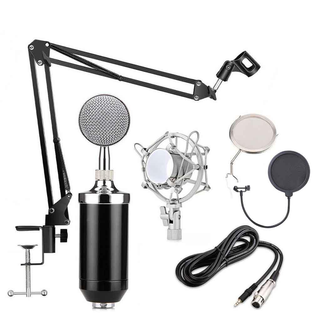 تجهیزات داخل بسته microphone BM868