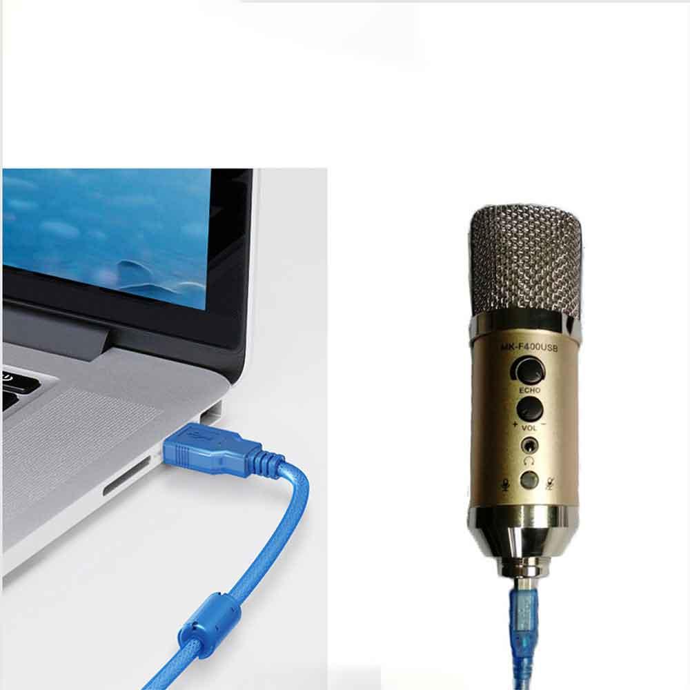 اتصال MK-F400 microphone به کامپیوتر