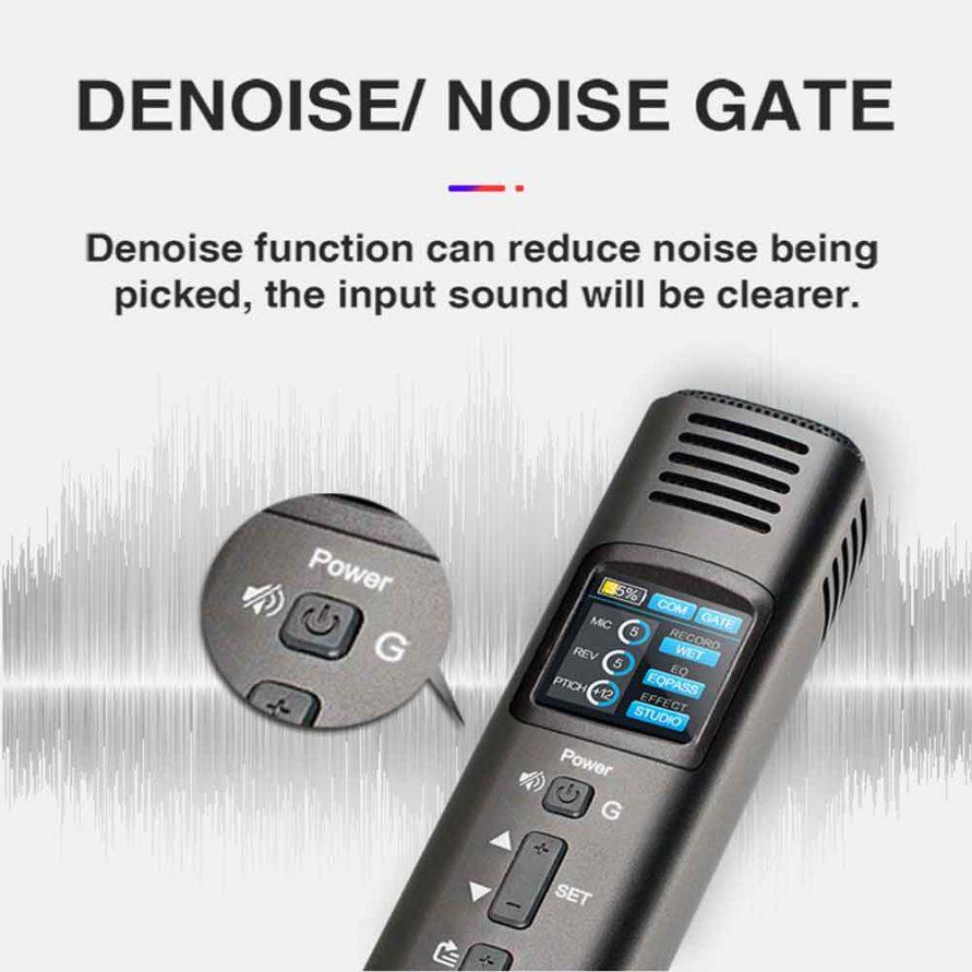 کاهنده نویز یا noise reduction در میکروفن HK620