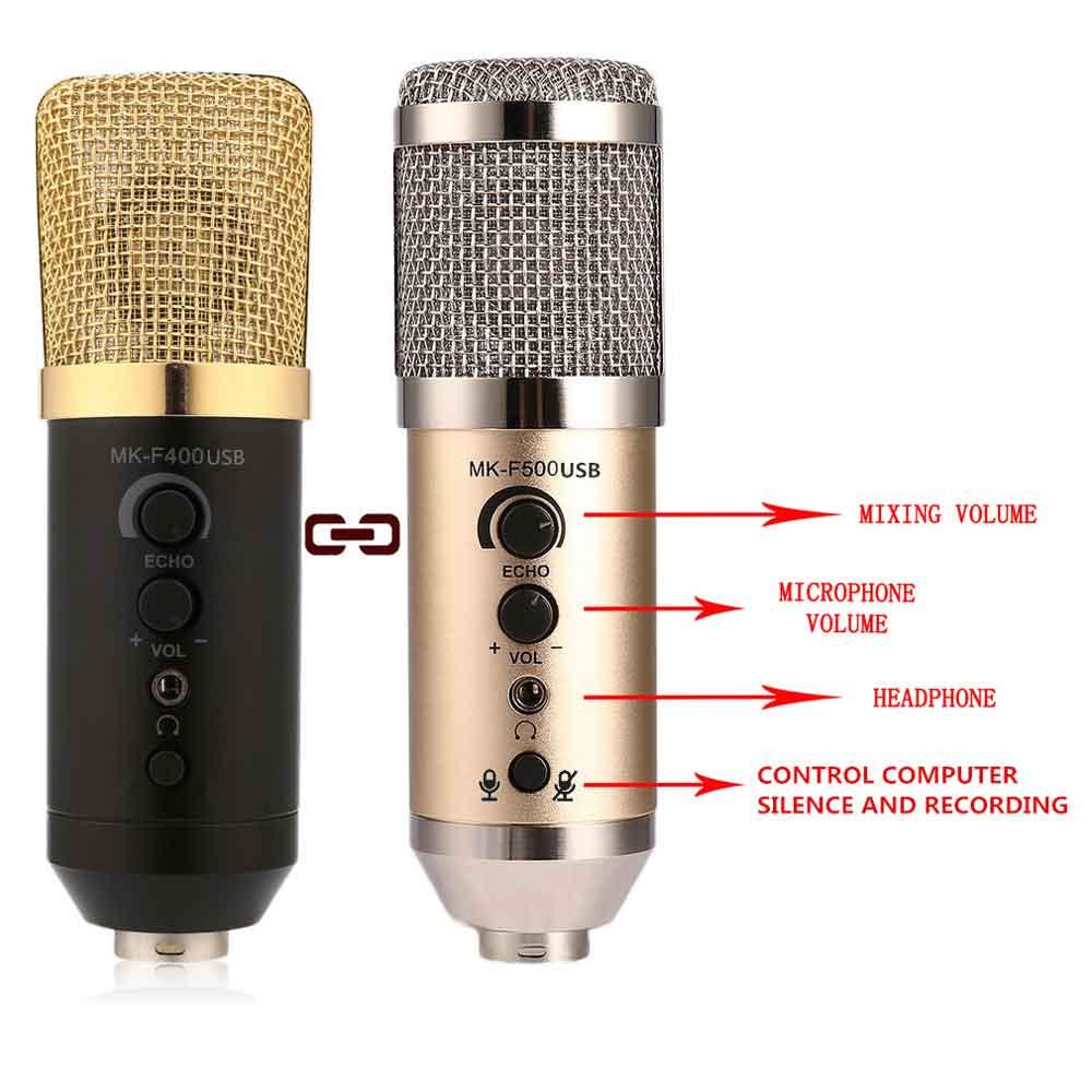 طراحی میکروفون یو اس بی MK-F400