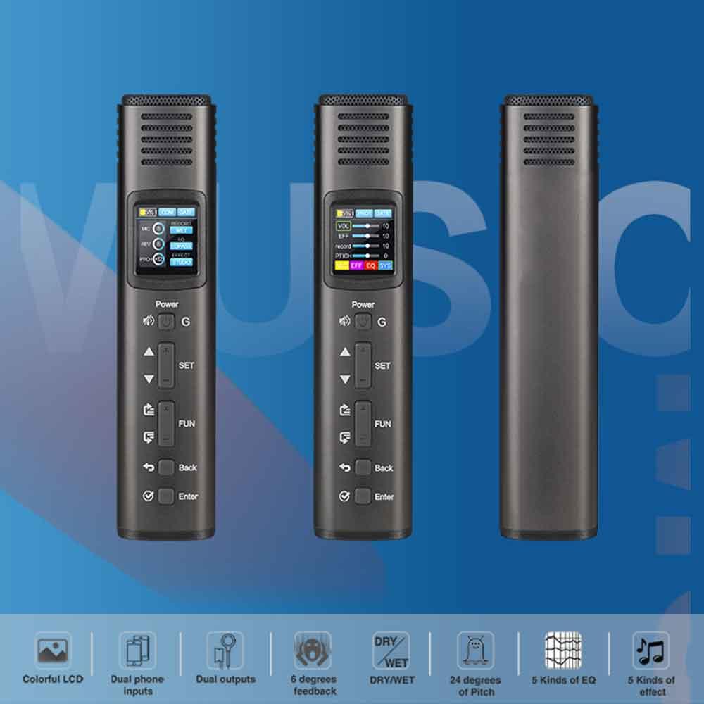 مشخصات ظاهری میکروفون HK620