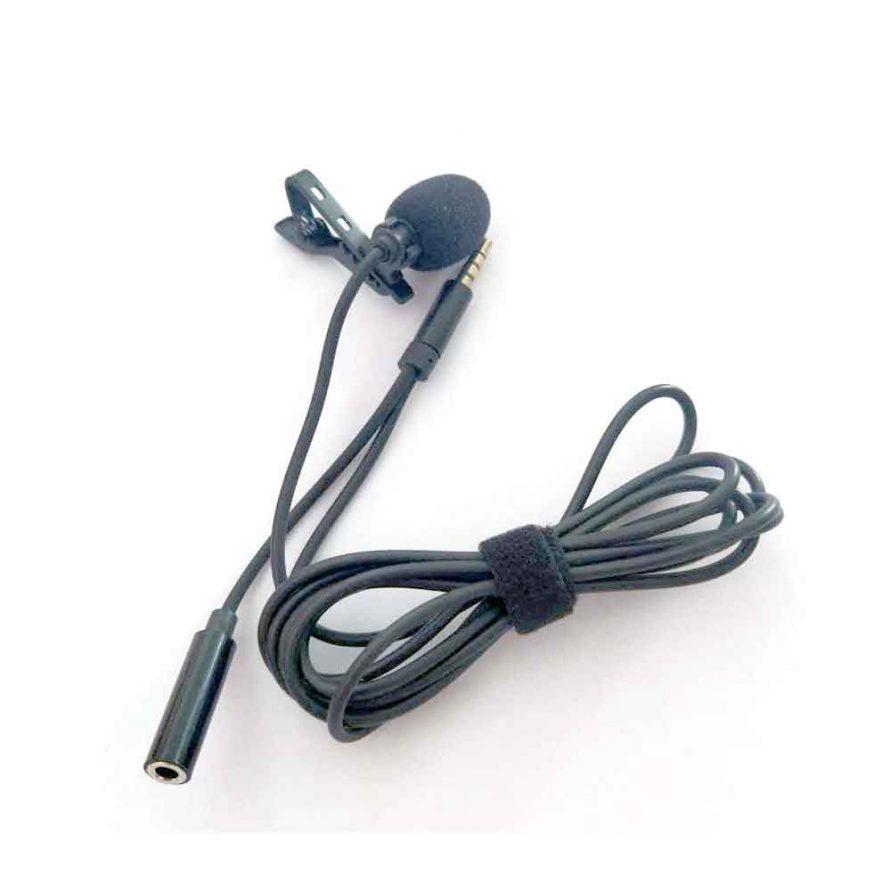 طراحی میکروفون یقه ای با خروجی هدست مدل HSX-M04