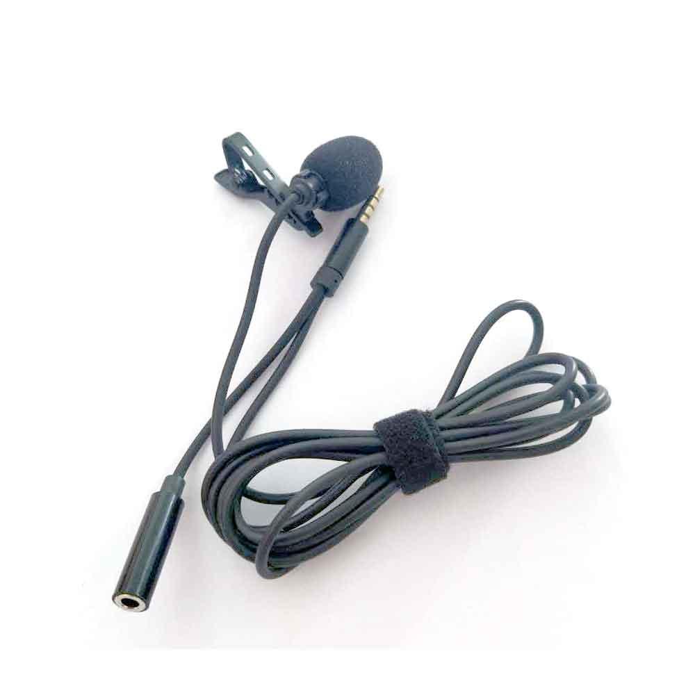 طراحی میکروفون یقه ای مدل HSX-M04 با خروجی هدست