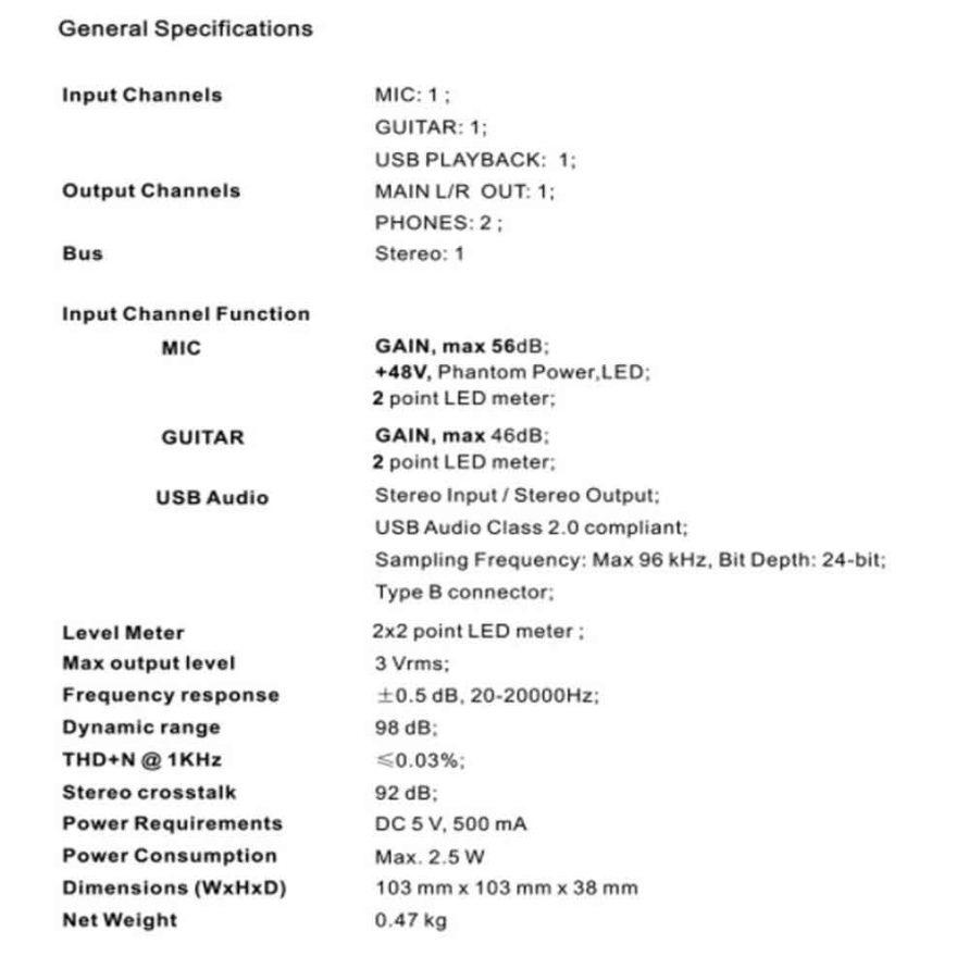 مشخصات و ویژگی های این کارت صوتی