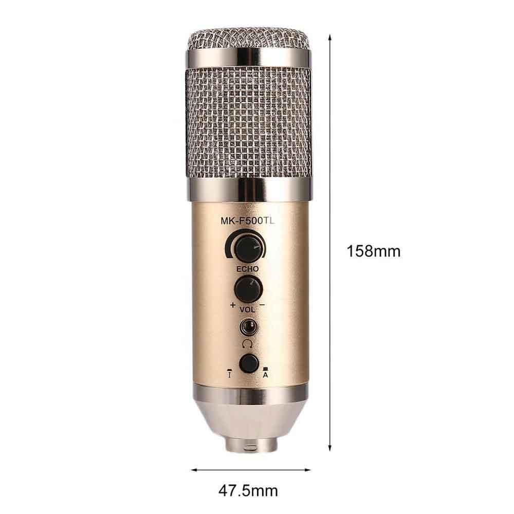 میکروفون کاندنسر مدل MK-F500TL