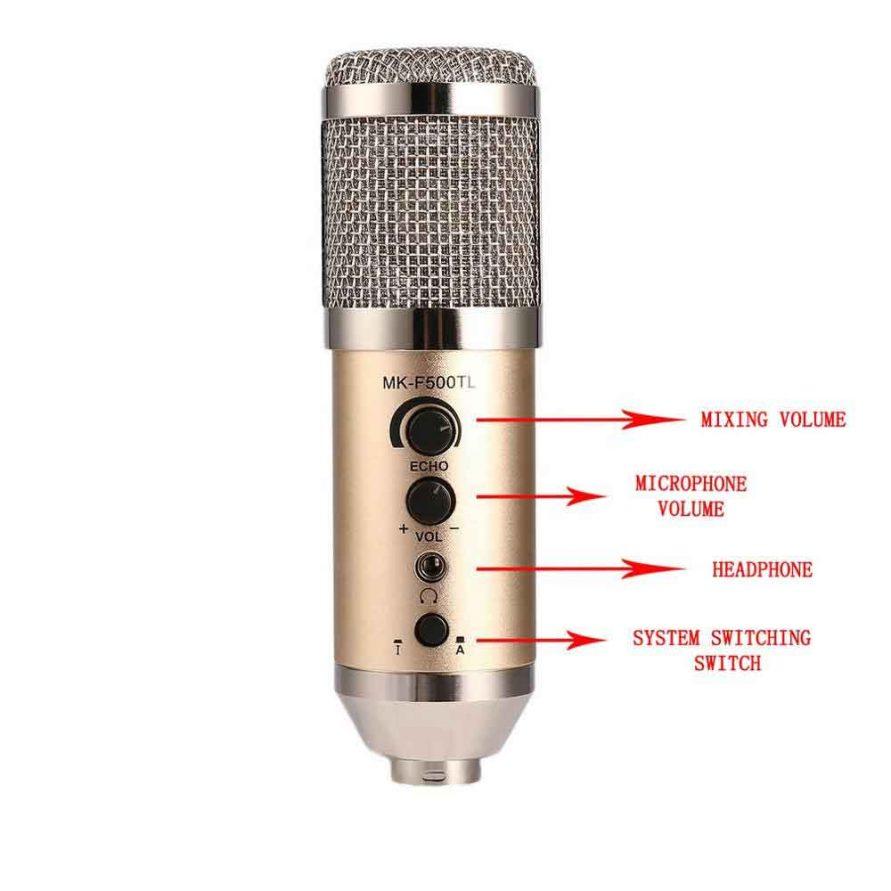 طراحی میکروفون ( میکروفن - microphone ) مدل MK-F500TL