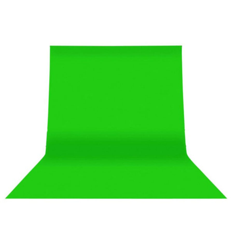 پرده کروماکی ( فون عکاسی ) سبز رنگ سایز 2.5 متر در 3 متر