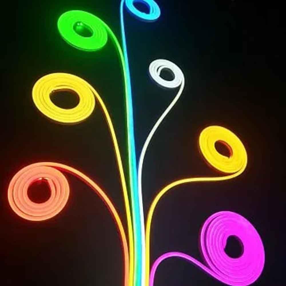ریسه نوری نئون فلکسی 5 متری